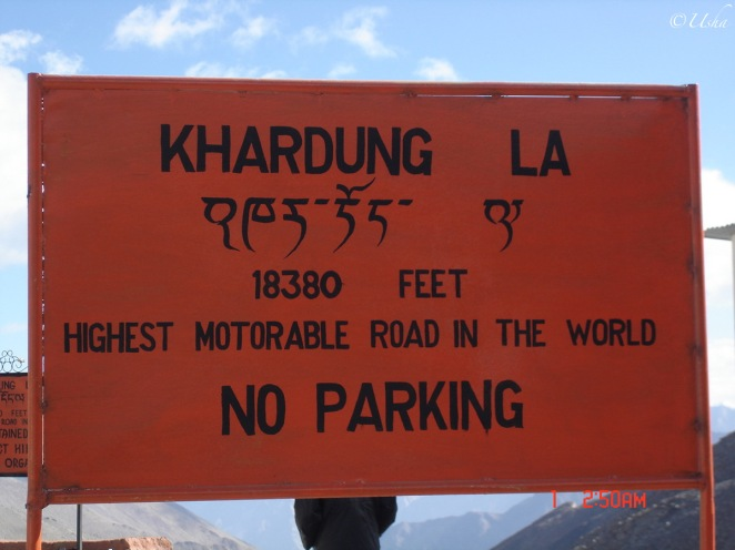 Highest motorable road in th world